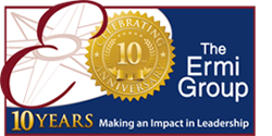 ermi group logo 10 years